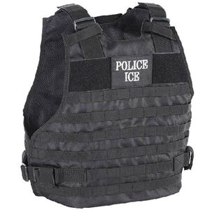 Voodoo Tactical Plate Carrier Vest Police/ICE Small to Medium Black 20-902901339