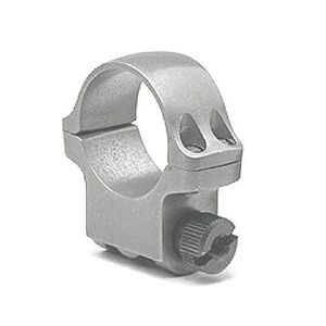 "Ruger 1"" Single Scope Ring Medium Stainless Steel 90282"