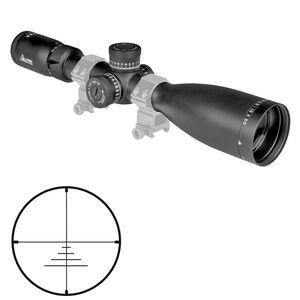 Alpen Optics Apex 2.5-15x50 Riflescope Non-Illuminated WBDC-A Reticle 30mm Side Parallax First Focal Plane Matte Black Finish