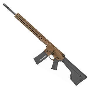 "LWRC DI AR-15 Semi Auto Rifle .224 Valkyrie 20"" Barrel 30 Rounds Modular Free Float M-LOK Rail Magpul MOE Rifle Stock Hard Coat Anodized Finish Burnt Bronze"