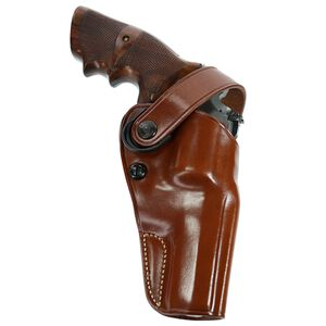 """Galco Gunleather DAO Taurus Judge with 3"""" Barrel 3"""" Cylinder Belt Holster Right Hand Leather Brown DAO304"""