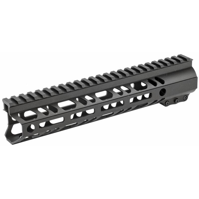"2A Armament Builder Series AR-15 10"" Free Float Hand Guard Picatinny/M-LOK Aluminum Construction Hard Coat Anodized Matte Black Finish"