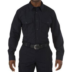 5.11 Tactical Men's Stryke PDU Class B Long Sleeve Flex-Tac Shirt Extra Large Regular Midnight Navy 72074