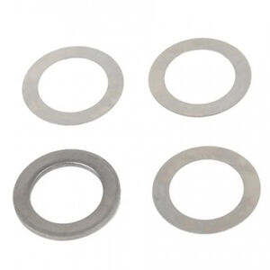 Guntec AR-15 Muzzle Device Shim Kit 5.56/.223 Caliber 1/2x28 TPI Black 4 Pieces