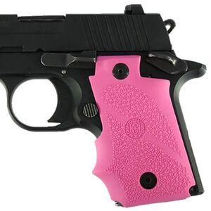 Hogue Soft Overmold SIG P238 Grips Rubber Pink 38007
