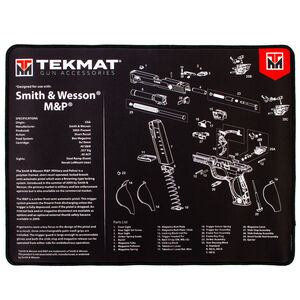"""TekMat Ultra Premium Gun Cleaning Armorer's Mat for Smith & Wesson M&P 15""""x20"""""""