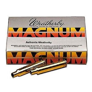 Weatherby .375 Weatherby Magnum 20 Unprimed Brass Cartridge Cases