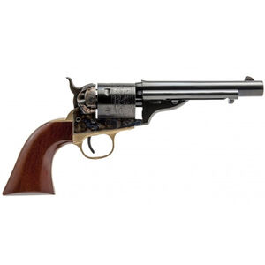 "Cimarron 1872 Open Top Navy Revolver 44 Special 5.5"" Barrel 6 Rounds Walnut Grips Blued"