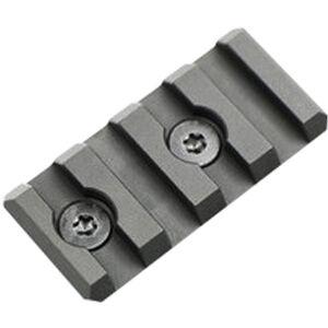 Noveske Rifleworks KeyMod 4 Slot 1913 Section NSR Picatinny Add-on Rail Aluminum Anodized Black KM-1913-4