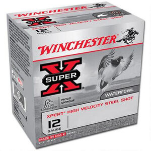 "Winchester Super X 12 Gauge Ammunition 100 Rounds, 2.75 "", #7"