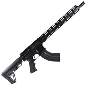 "I.O. Inc M215 AR-15 Semi Auto Rifle 7.62x39 16"" Barrel 30 Rounds Free Float M-LOK Hand Guard Hard Coat Anodized Matte Black Finish"