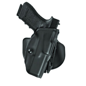 Safariland Model 6378 ALS Paddle Holster Right Hand Fits GLOCK 17/22 with Light Hardshell STX Basketweave Black