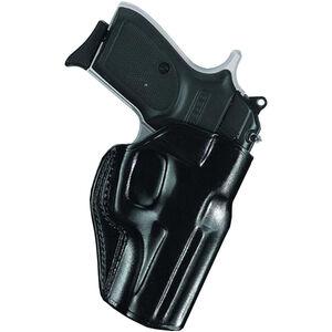Galco Stinger GLOCK 43 Belt Holster Right Hand Leather Black SG800B