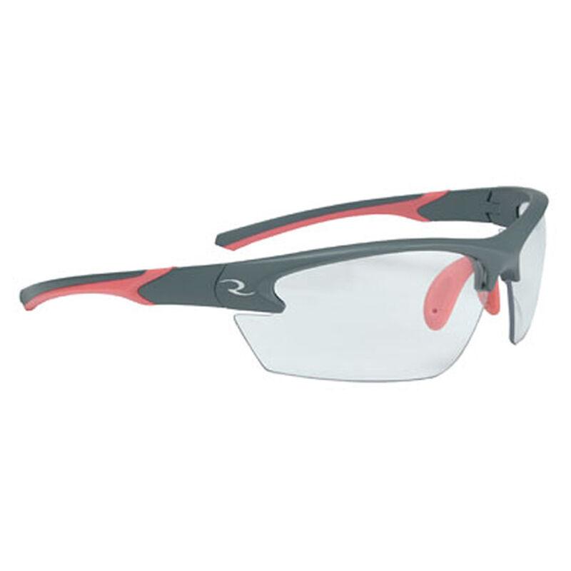 Radians Ladies Range Eyewear Adult Safety/Shooting Glasses Clear Lens Coral/Charcoal Frame