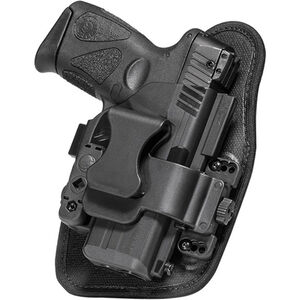 """Alien Gear ShapeShift Appendix Carry Springfield XD Mod.2 Subcompact 9mm/.40 with 3"""" Barrel IWB Holster Right Handed Synthetic Backer with Polymer Shell Black"""