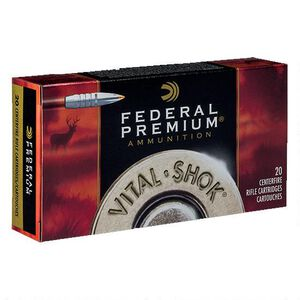 Federal  Trophy Bonded Tip 7mm STW Ammunition 20 Rounds PTBT 160 Grains P7STWTT1