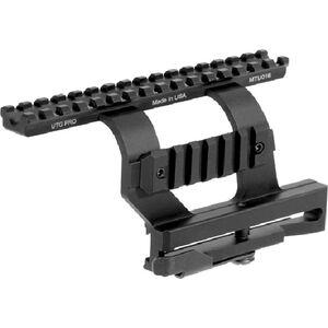 Leapers UTG PRO AK-47 Quick Detach Side Mount Scope Mount Aluminum Black MTU016