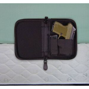 Personal Security Products Holster Mate Pistol Case Nylon 5 by 6.5 Inches Black NPCSBLK