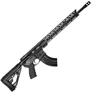 "Diamondback Firearms DB15 AR-15 Semi Auto Rifle 6.5 Grendel 18"" Barrel 28 Rounds 15"" KeyMod Free Float Rail Collapsible Stock Matte Black Finish"