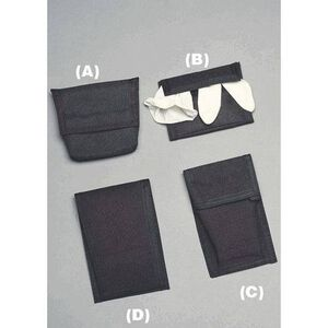 Emergency Medical International Pager Case Cordura Large Black 601