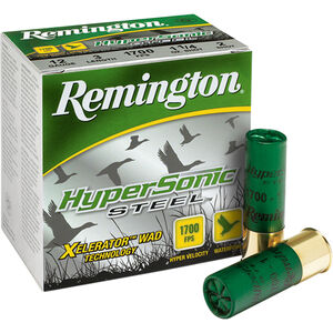 Remington HyperSonic 10ga 3-1/2 #2 Steel 1-1/2oz 250 Rnds