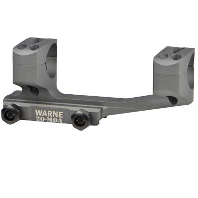 "Warne X-Skel Scope Mount 20 MOA 1"" Aluminum Tactical Gray"