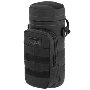 Maxpedition Hard Use Gear Bottle Holder Nylon 10 Inches x 4 Inches Black