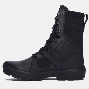 "Under Armour Performance UA FNP Men's 9"" Tactical Boot Synthetic/Textile/Rubber Size 14 Black"