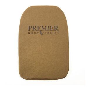 "Premier Body Armor Backpack Panel Universal Fit Medium 11""x14"" Level IIIA Tan BPP-9008"