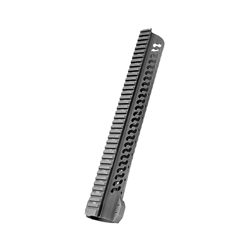 "Samson Manufacturing AR-10 Free Float KeyMod Evolution Series 15"" Hand Guard 6061 T6 Aluminum Hard Coat Anodized Black"