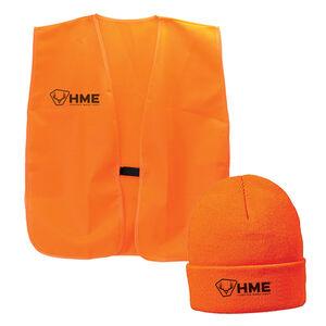 HME Orange Vest & Beanie one Size Fits Most