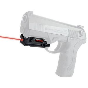 LaserMax Uni-Max Essential Series Red Rail Mounted Laser Black LMS-UNI-ES