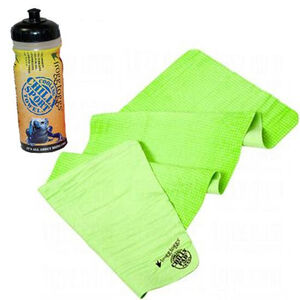 """Frogg Toggs Chilly Sport Band Lime Green 7.5""""x33"""" CS105-48"""