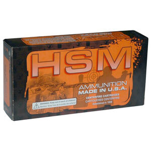 HSM Low Recoil 6.5 Creedmoor Ammo 20 Rounds 140 Grain