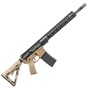 "FNH FN 15 Tactical II  FDE/BLK AR-15 Semi Auto Rifle 5.56 NATO 16"" Barrel 30 Rounds M-LOK Hand Guard MOE Grip and Stock"
