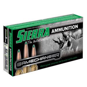 Sierra GameChanger 6.5 Creedmoor Ammunition 20 Rounds 130 Grain Tipped GameKing