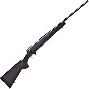 "Howa 1500 Hogue Standard Rifle .22-250 Rem Bolt Action Rifle 22"" Barrel 5 Rounds Black Hogue Overmolded Stock Blued Finish"