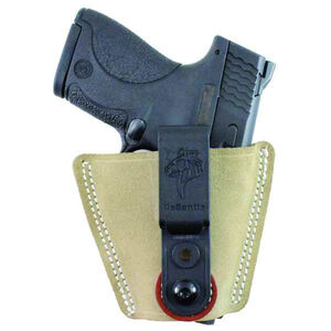 DeSantis Versa-Tuk IWB Holster Abidextrous Small to Medium Semi Autos/Revolvers Natural Suede