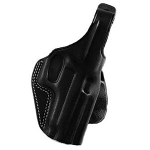 Galco PLE Beretta 92, 96, M9 Unlined Paddle Holster Right Hand Leather/Polymer Black PLE202B