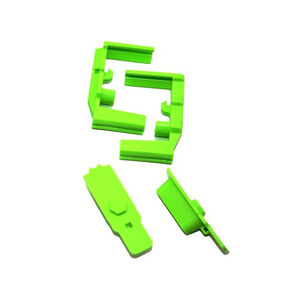 Hexmag HexID AR-15 Mag Color Identification System Zombie Green 2 Pack HXID2ARGRN