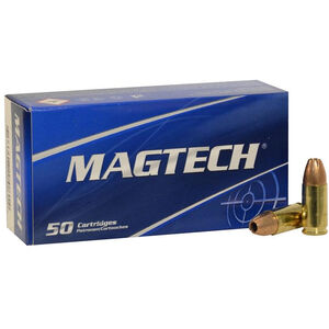 Magtech 9mm Luger Ammunition 50 Rounds JHP 115 Grains 9C