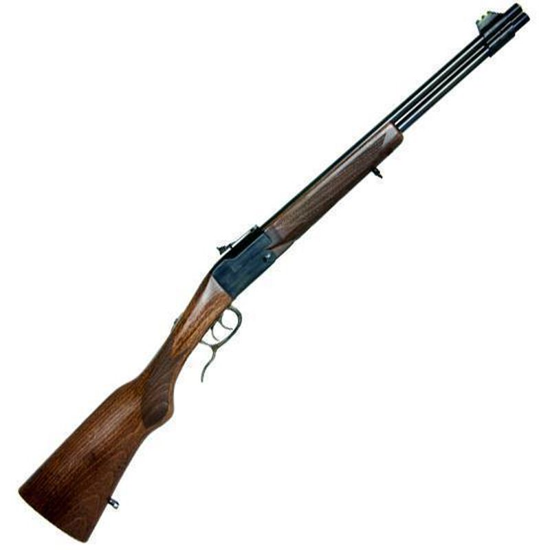 "Chiappa Firearms Double Badger Combined Over/Under Rifle .22LR/.410 Bore 19"" Barrel 2 Rounds Wood Stock 500.097"
