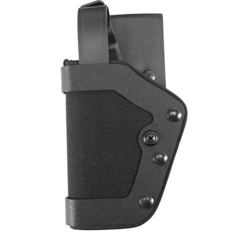 Uncle Mike's PRO-2 GLOCK 17, 19, 22, 23, 31 Level II Duty Holster Left Hand Size 21 Kodra Nylon Black 43212