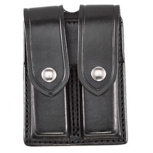 Aker Leather 510 Double Magazine Pouch Color: Black F