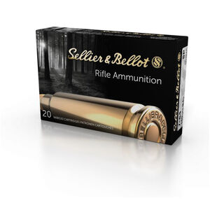 Sellier & Bellot 7x64mm Brenneke Ammunition 400 Rounds SP 139 Grains SB764A