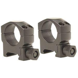 "Leupold Mark 4 Tactical Scope Rings 1"" Tube Diameter Medium Height Solid Steel Rings Matte Black"