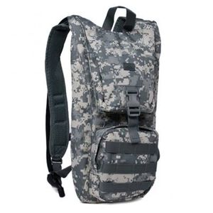 Red Rock Outdoor Gear Hydration Pack with 2.5 Liter Bladder Polyester ACU 80429ACU
