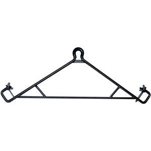 GSM Outdoors HME Game Hanging Gambrel with Leg Lock Holds 500 lbs Steel Black