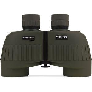 Steiner Military/Marine MM1050 Binoculars 10x50mm Floating Prism System Makrolon Housing NBR Rubber Armor OD Green