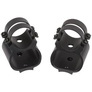 "Weaver Steel Lock See-Thru 1"" Tube Diameter Scope Mount Ruger 10/22 Direct Receiver Mount Steel/Aluminum Matte Black 49711"